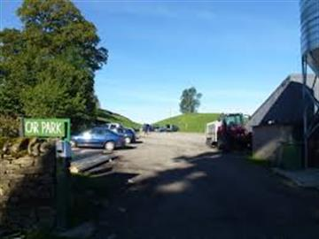Car park in Keld